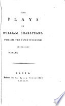 The Plays of William Shakspeare: Hamlet