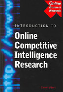 An Introduction to Online Competitive Intelligence Research