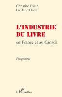 L'industrie du livre en France et au Canada