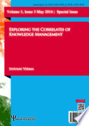 Exploring The Correlates Of Knowledge Management