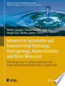 Advances in Sustainable and Environmental Hydrology  Hydrogeology  Hydrochemistry and Water Resources Book