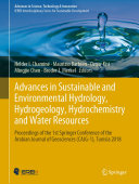 Advances in Sustainable and Environmental Hydrology, Hydrogeology, Hydrochemistry and Water Resources Book