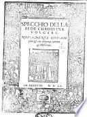 Specchio della fede Christiana volgare