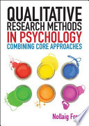 EBOOK  Qualitative Research Methods in Psychology  Combining Core Approaches Book