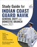Study Guide for Indian Coast Guard Navik General Duty   Domestic Branch Exams 2021