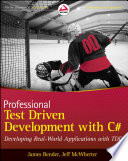 Professional Test Driven Development with C  Book