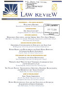 U C  Davis Law Review
