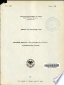 Progress Report   Metallurgical Division