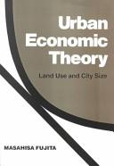 Urban Economic Theory