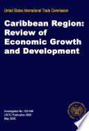 Caribbean Region  Review of Economic Growth and Development  Inv  332 496
