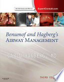 Benumof and Hagberg s Airway Management