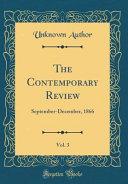 The Contemporary Review Vol 3