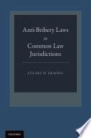 Anti Bribery Laws in Common Law Jurisdictions