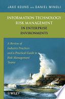 Information Technology Risk Management In Enterprise Environments Book PDF