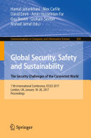 Global Security, Safety and Sustainability - The Security Challenges ...