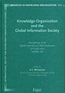 Knowledge Organization And The Global Information Society Book PDF