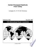 Processed Hazelnuts from Turkey