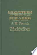 Gazetteer Of The State Of New York
