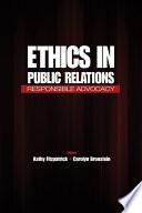 Ethics in Public Relations Book PDF