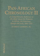 Pan-African Chronology