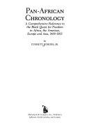 Pan African Chronology