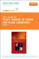 Manual of Canine and Feline Cardiology Pageburst Access Code