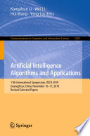 Artificial Intelligence Algorithms and Applications Book