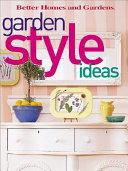 Garden Style Ideas