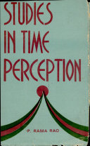 Studies in Time Perception