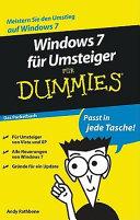 Windows 7 für Umsteiger für Dummies