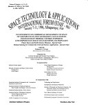 Space Technology and Applications International Forum