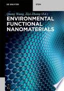 Environmental Functional Nanomaterials