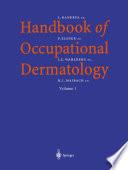 Handbook of Occupational Dermatology Book