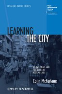 Learning the City