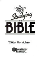 A Laymans Guide To Studying The Bible