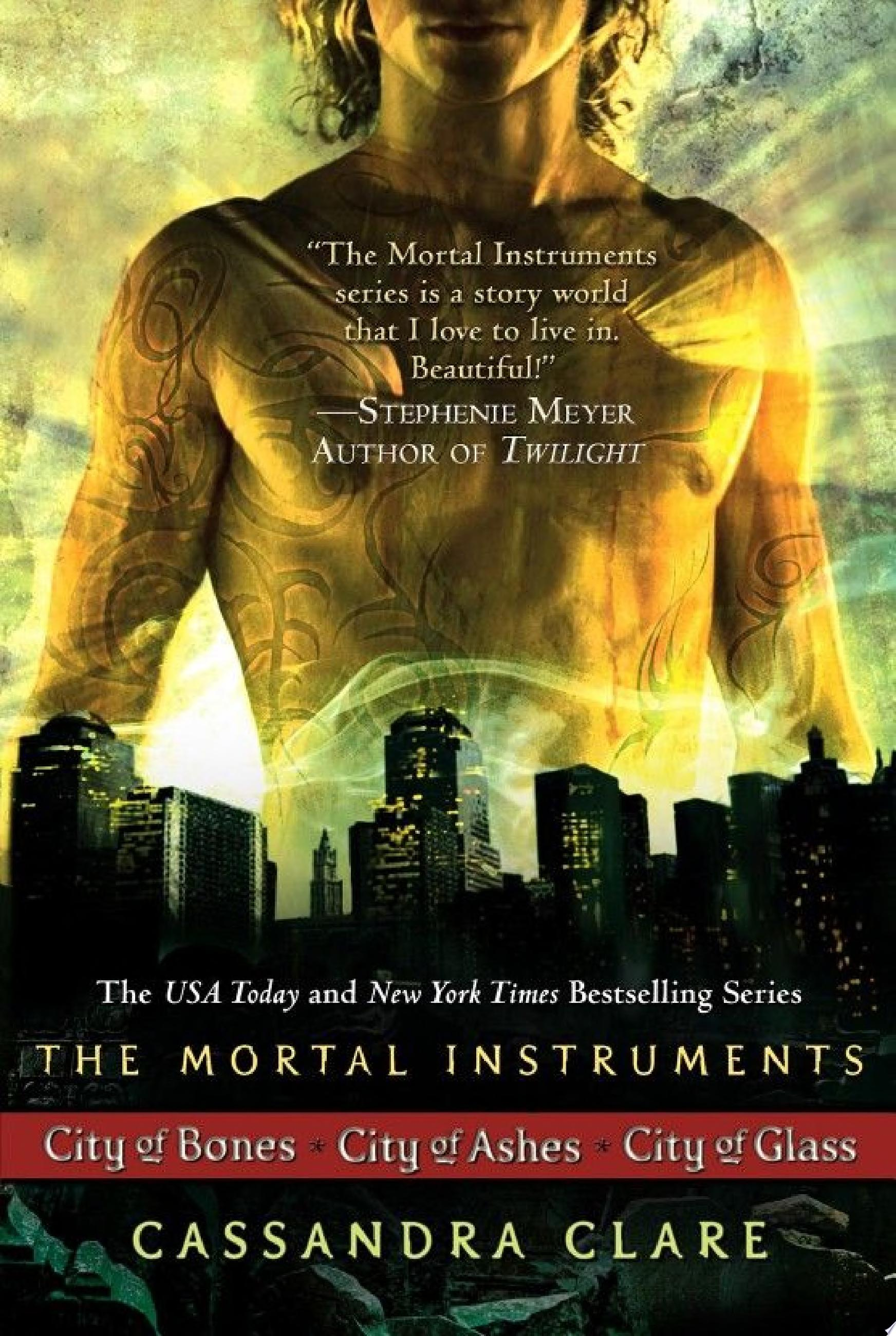 Cassandra Clare  The Mortal Instrument Series  3 books