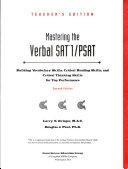 Great Source Mastering Verbal Sat Psat