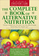 The Complete Book of Alternative Nutrition