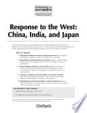 Response To The West China India And Japan Book PDF