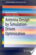 Antenna Design by Simulation Driven Optimization