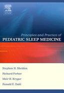 Principles and Practice of Pediatric Sleep Medicine ebook