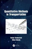Quantitative Methods in Transportation Pdf/ePub eBook