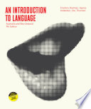 """An Introduction to Language"" by Victoria Fromkin, Robert Rodman, Nina Hyams, Mengistu Amberber, Felicity Cox, Rosalind Thornton"