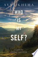 Who Is My Self  Book