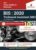 BIS Technical Assistant  Mechanical    2020   10 Mock Test For Complete preparation