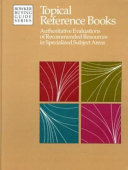 Topical Reference Books Book PDF