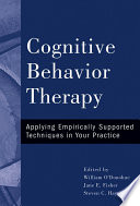 Cognitive Behavior Therapy Book