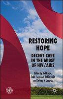 Restoring Hope Book