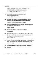 Journal of School Leadership