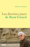 Pdf Les derniers jours de René Girard Telecharger